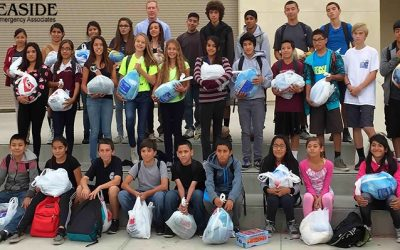SEA sends Santa Paula students home with turkeys
